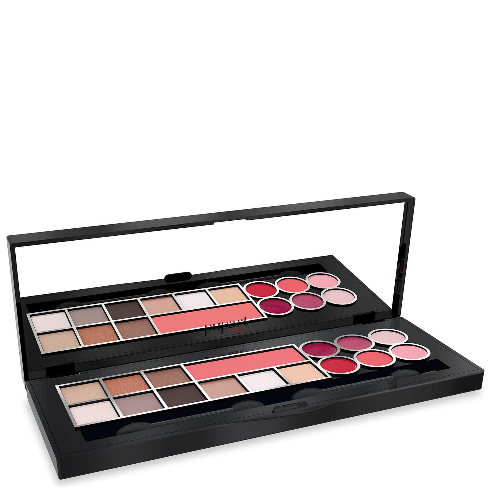 Pupa rt palette make-up cofanetto dorato - Warm Shades