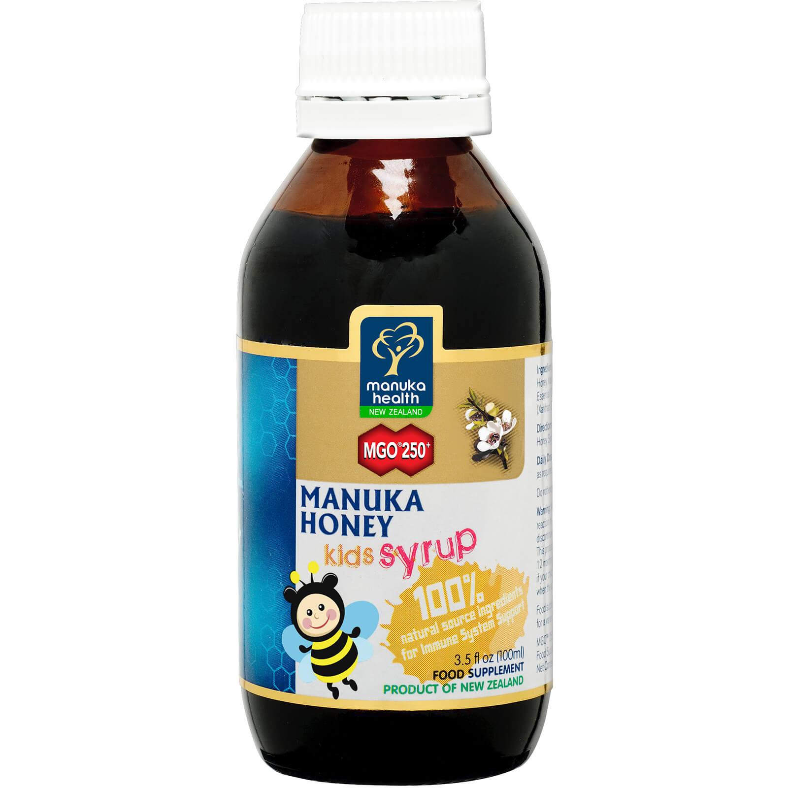 Manuka Health New Zealand Ltd Manuka Health sciroppo al miele di manuka MGO 250+ per bambini 100 ml