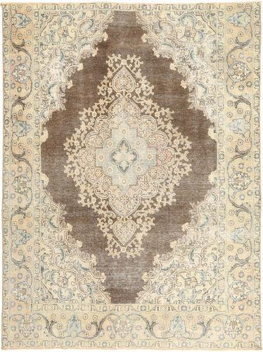 Annodato a mano. Provenienza: Persia / Iran Tappeto Persiano Colored Vintage 200X262 Beige/Grigio Chiaro (Lana, Persia/Iran)