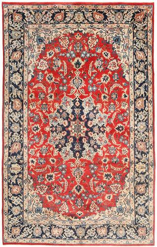 RugVista 205X330 Tappeto Orientale Fatto A Mano Persiano Lana Marrone Scuro/Ruggine/Rosso