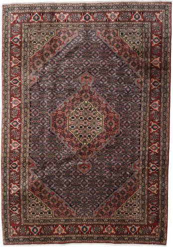 Annodato a mano. Provenienza: Persia / Iran Tappeto Fatto A Mano Ardebil 200X286 Marrone Scuro/Grigio Scuro (Lana, Persia/Iran)