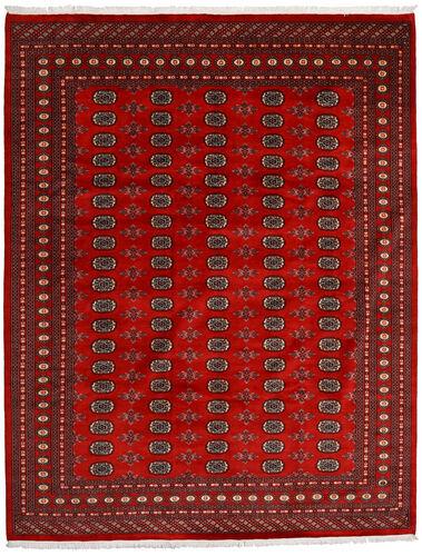 Annodato a mano. Provenienza: Pakistan Tappeto Orientale Pakistan Bukara 2Ply 248X316 Rosso Scuro/Ruggine/Rosso (Lana, Pakistan)