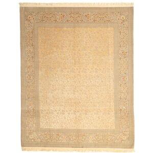 Annodato a mano. Provenienza: Persia / Iran Tappeto Fatto A Mano Isfahan Ordito In Seta Firmato: Dardashti 247X312 Beige Scuro/Beige (Lana/Seta, Persia/Iran)