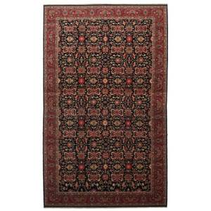 Annodato a mano. Provenienza: Persia / Iran Tappeto Orientale Malayer 505X817 Marrone Scuro/Rosso Scuro Grandi (Lana, Persia/Iran)