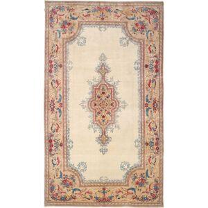 Annodato a mano. Provenienza: Persia / Iran Tappeto Fatto A Mano Kirman Royal Firmato: Parta 285X504 Beige/Marrone Scuro Grandi (Lana, Persia/Iran)