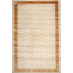 Annodato a mano. Provenienza: India 355X544 Tappeto Orientale Tabriz Royal Beige Grandi ( India)