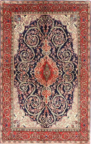 Annodato a mano. Provenienza: Persia / Iran Tappeto Saruk 132x217 Tappeto Persiano