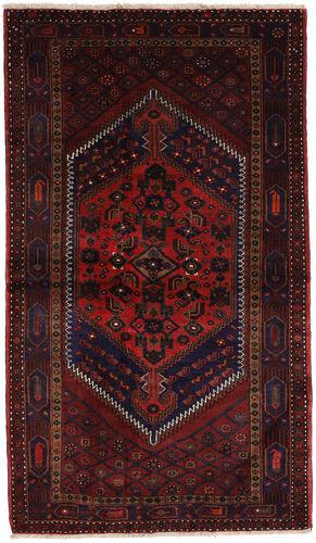 Annodato a mano. Provenienza: Persia / Iran Tappeto Hamadan 132x227 Tappeto Persiano