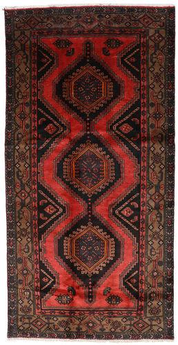 Annodato a mano. Provenienza: Persia / Iran Tappeto Hamadan 132x264 Tappeto Persiano