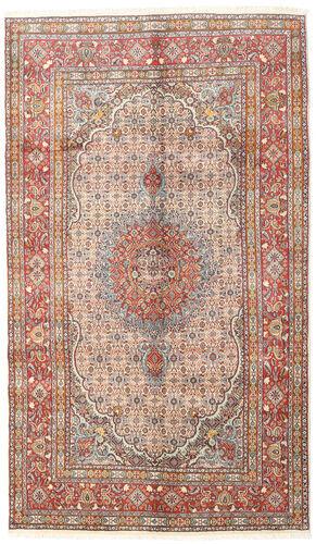 annodato a mano. provenienza: persia / iran tappeto orientale moud 148x255 beige/grigio chiaro/marrone chiaro (lana/seta, persia/iran)