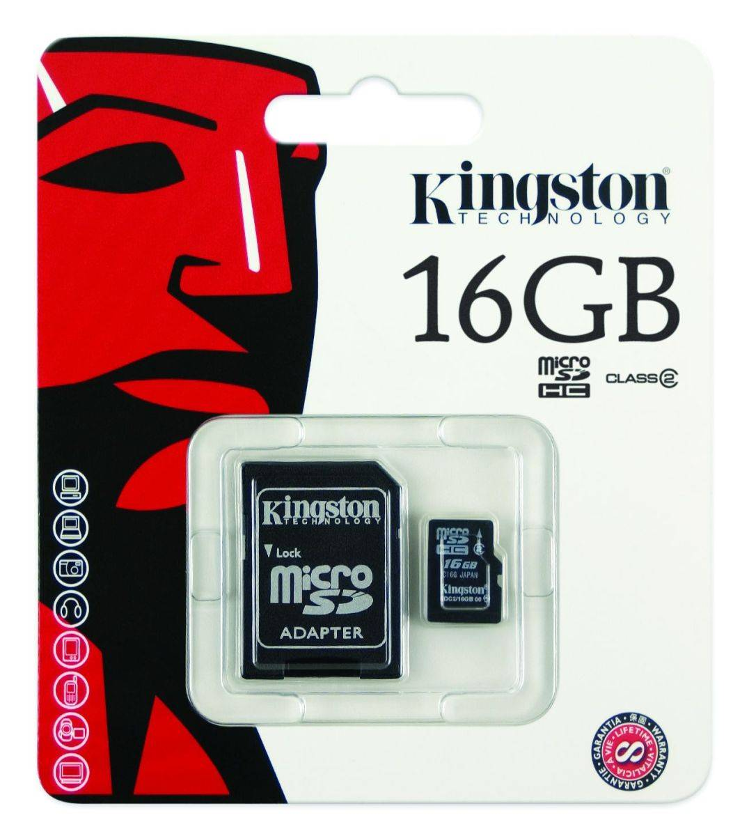 KINGSTONE MICRO SD 16GB