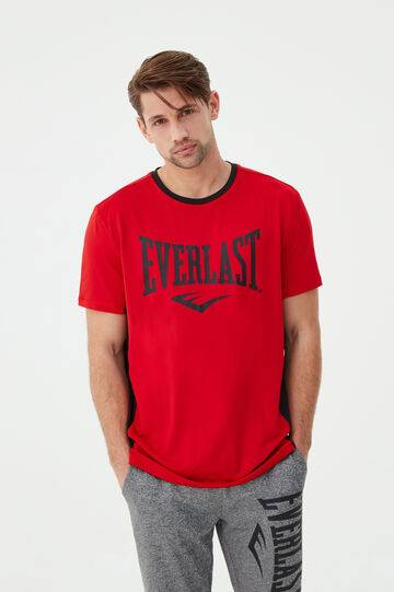 OVS T-shirt stretch con bande Everlast Rosso