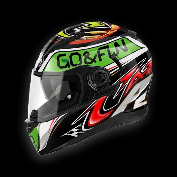 airoh casco moto  integrale movement replica go e fun