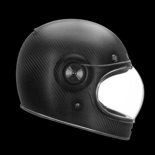 bell casco moto integrale  bullitt carbon matte carbon
