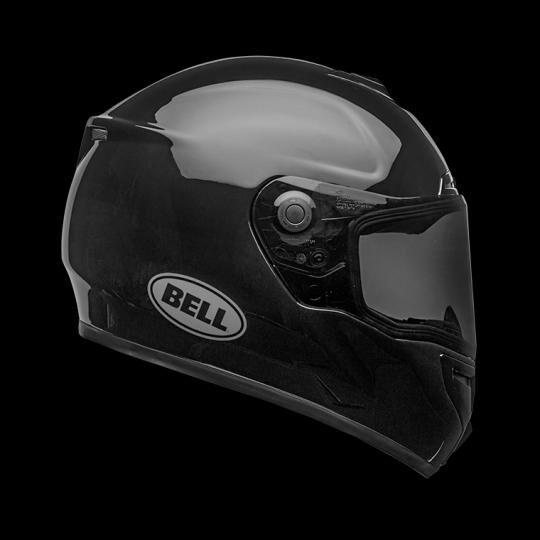 bell casco moto integrale  srt gloss black