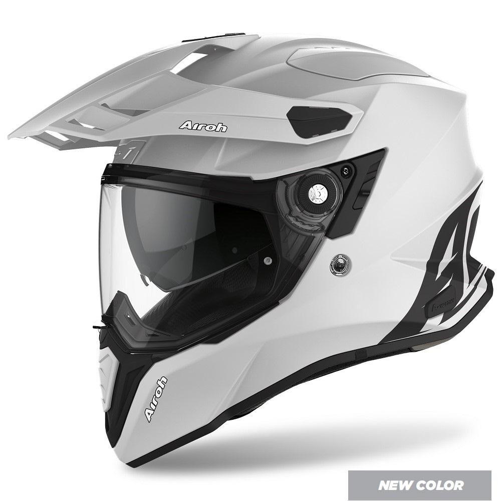 airoh casco moto  commander color concrete grey matt 2020 cm81