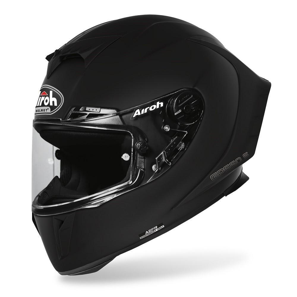 airoh casco integrale moto  gp550 color black matt 2020 gp5511
