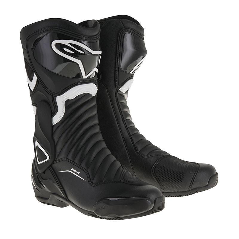 Alpinestars Stivali Moto Racing  Smx-6 V2 Black White Cod 2223017