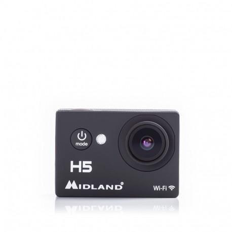 """Midland Videocamera Moto H5 Full Hd Con Wi-Fi Lcd 2"""" Cod C1208"""