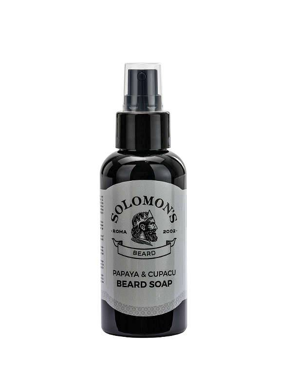 Solomon's Beard Shampoo per barba Papaya e Cupacu 100ml