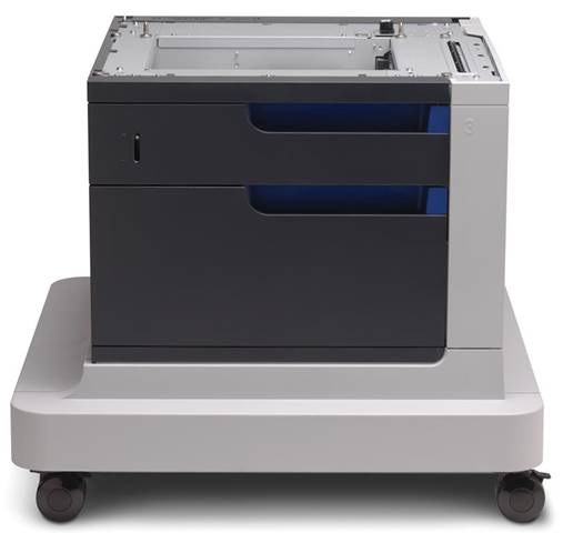 HP LaserJet Alimentatore carta e mobiletto da 500 fogli Color