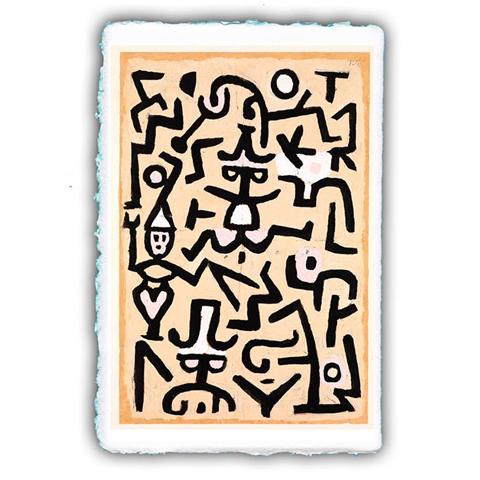 Pitteikon MiniArtPrint. Stampe fine art. Paul Klee. Volantino dei comici. 1932