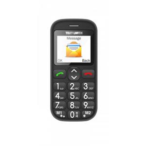 "Telefunken TM 110 COSI 4,5 cm (1.77"") 170 g Nero Telefono per anziani"