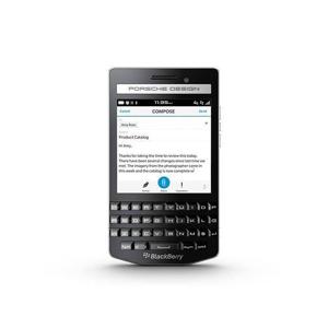"Blackberry P9983 7,87 cm (3.1"") 2 GB 64 GB SIM singola 4G Nero BlackBerry OS 10 2100 mAh"