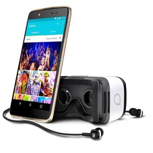 """Alcatel IDOL 4 13,2 cm (5.2"""") 3 GB 16 GB Doppia SIM 4G Micro-USB Nero, Oro Android 6.0 2610 mAh"""