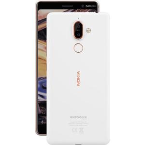 "Nokia 7 plus 15,2 cm (6"") 4 GB 64 GB Doppia SIM Rame, Bianco 3800 mAh"