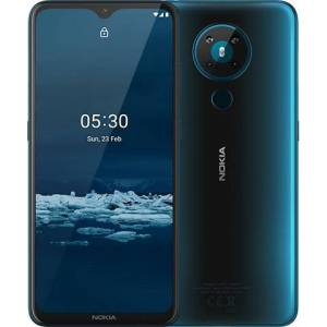 "Nokia 5.3 16,6 cm (6.55"") 4 GB 64 GB Doppia SIM 4G USB tipo-C Ciano Android 10.0 4000 mAh"