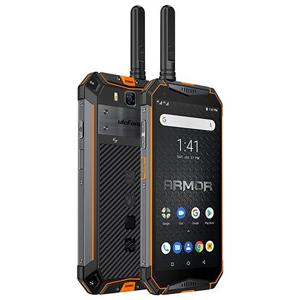 "Ulefone Armor 3WT 14,5 cm (5.7"") 6 GB 64 GB Doppia SIM 4G USB tipo-C Nero, Arancione Android 9.0 10300 mAh"