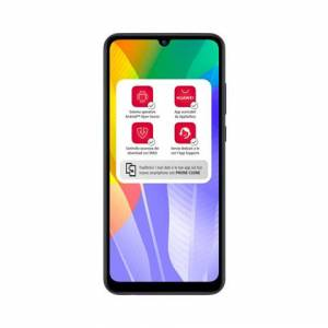 """Huawei Y6p 16 cm (6.3"""") 3 GB 64 GB Doppia SIM 4G Micro-USB Nero Android 10.0 Huawei Mobile Services (HMS) 5000 mAh"""