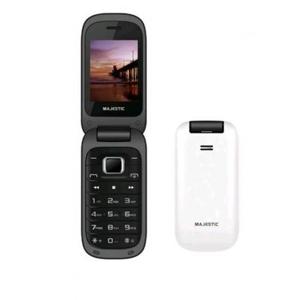 "Cellulare TLF Lucky 48 Flip UMTS 2.4 "" Italia Bianco, Nero 300048-WH"