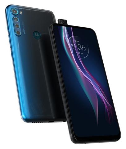 """Motorola one Fusion+ 16,5 cm (6.5"""") 6 GB 128 GB SIM singola 4G USB tipo-C Blu Android 10.0 5000 mAh"""