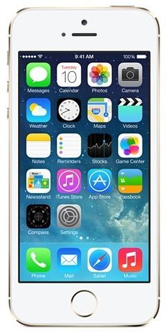 iPhone 5s 4G 16Gb Gold Apple Smartphone