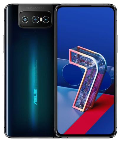 "Asus ZenFone 7 ZS670KS-2A014EU 16.9 cm (6.67"") 8 GB 128 GB Dual SIM 5G USB Type-C Black Android 10.0 5000 mAh"