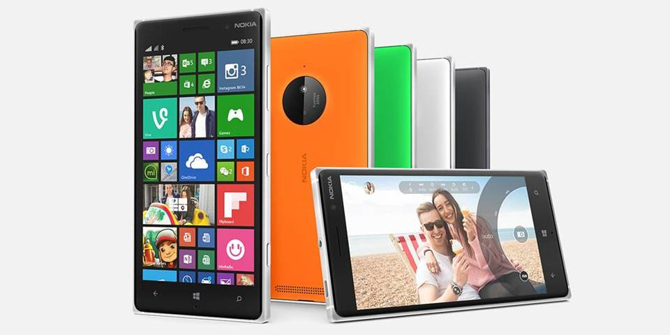 Microsoft Smartphone Microsoft Lumia 830 4G 16Gb Nero