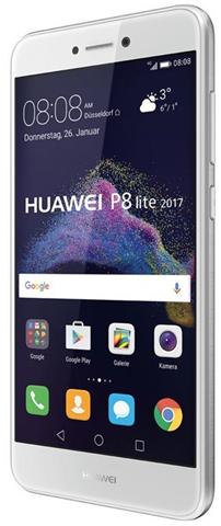 """Huawei P8 Lite 2017 Dual SIM 4G 16GB White - smartphones (13.2 cm (5.2""""), 1920 x 1080 pixels, Flat, LTPS, 16.78 million colours, 16:9)"""