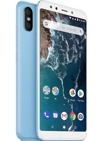 "Xiaomi Mi A2 15,2 cm (5.99"") 4 GB 64 GB Doppia SIM 4G Blu 3010 mAh"