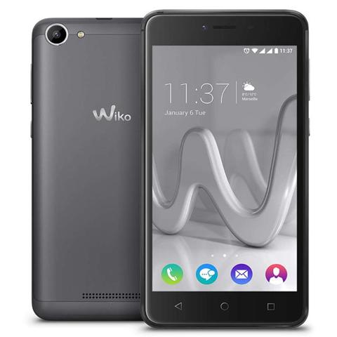 Wiko Lenny3 MAX 12,7 cm (5) 16 GB Doppia SIM 3G Micro-USB Grigio 4900 mAh