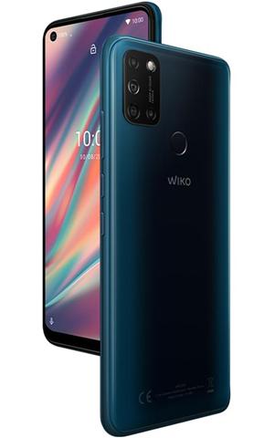 "Wiko View5 16,6 cm (6.55"") 3 GB 64 GB Doppia SIM 4G USB tipo-C Verde Android 10.0 5000 mAh"