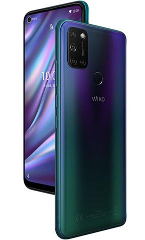 "Wiko VIEW5 PLUS 16,6 cm (6.55"") 4 GB 128 GB Doppia SIM 4G Micro-USB Blu Android 10.0 5000 mAh"