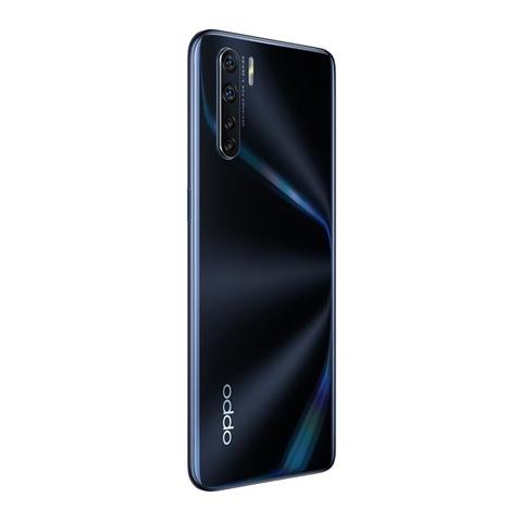 Oppo A91 Smartphone , Display 6.4'' AMOLED, 4, Fotocamere, 128 GB Espandibili, RAM 8 GB, Batteria 4025 mAh, Dual Sim, 2020, Versione italiana], Colore Lightening Black