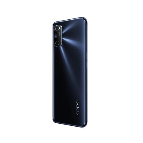 "Oppo A52 Smartphone, 192g, Display 6.5"" FHD+ LCD, 4 Fotocamere 12MP, RAM 4GB + ROM 64GB Espandibile, Batteria 5000mAh, Ricarica Rapida, Dual Sim, [Versione Italiana], Twilight Black"