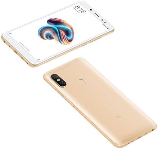 Xiaomi Redmi Note 5 15,2 cm (5.99) 3 GB 32 GB Doppia SIM 4G Oro 4000 mAh