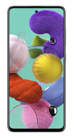 "Samsung Galaxy A51 SM-A515F 16,5 cm (6.5"") 4 GB 128 GB Doppia SIM 4G USB tipo-C Nero 4000 mAh"
