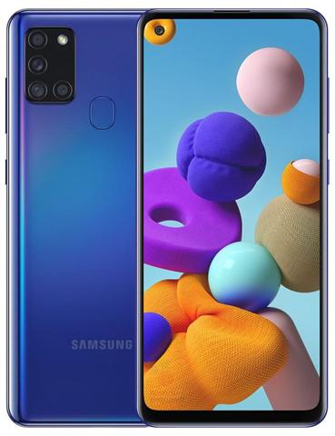 """Samsung Galaxy A21s SM-A217F/DSN 16,5 cm (6.5"""") 3 GB 32 GB Doppia SIM 4G Blu Android 10.0 5000 mAh"""