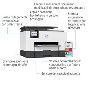 HP OfficeJet Pro 9020 Getto termico d'inchiostro 4800 x 1200 DPI 24 ppm A4 Wi-Fi