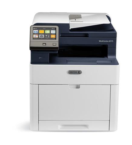 Xerox WorkCentre Stampante Multifunzione A Colori 6515, Stampa/Copia/Scansione/Email/Fax, A4, 28/28 Ppm, Fronte/Retro, Usb/Ethernet/Wireless, Vassoio Da 250 Fogli, Vassoio Multiuso Da 50 Fogli, A...